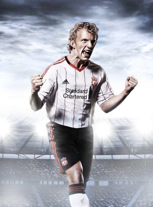 Dirk Kuyt- Liverpool Football Club #Photography #SportsPhotography #SimonDervillerPhotography #LiverpoolFootballClub #Sports #Football #Adidas