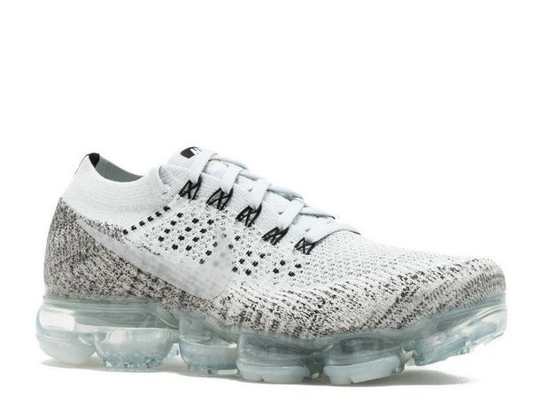 3fd4469c495717 Men Air Vapormax Vapor Max Flyknit Oreo Pale Grey Sail