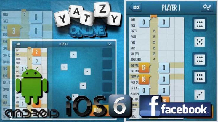 Yatzy Online on YouTube