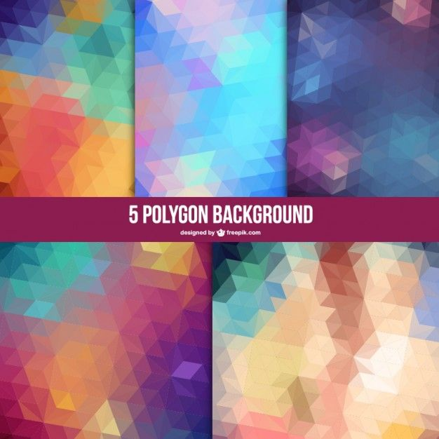 polygones clairs