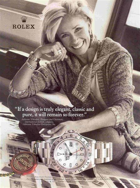 Rolex Explorer II ad (16570)