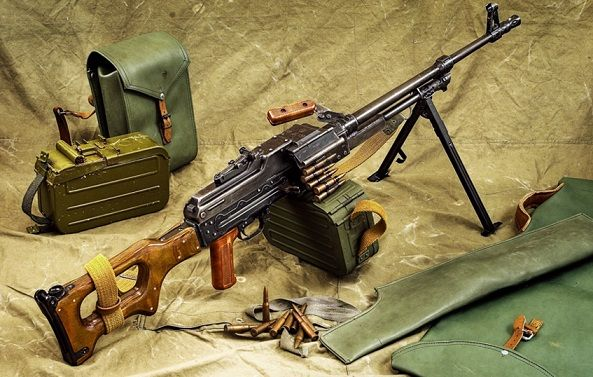 PKM-PKM,PKT, 7.62 x 54 mm General Purpose Machine Gun,OFB,Indian Armed Forces