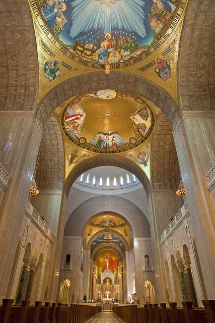 Basilica of the National Shrine of the Immaculate Conception in Washington DC --- THIS was gorgeous!