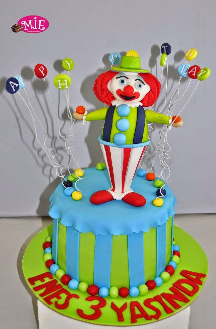 palyaçolu pasta Doğum Günü Pasta Çeşitlerimize Göz Attınız mı?