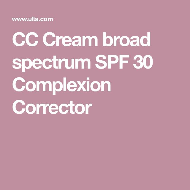 CC Cream Broad Spectrum SPF 30 Complexion Corrector by Peter Thomas Roth #12