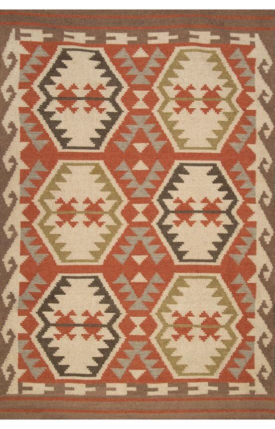 Tuscan Outdoor Flatwoven VS155 Multi Rug | Southwestern Rugs