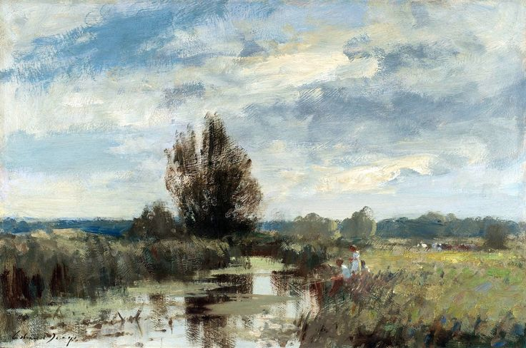 By the Upper Yare. Edward Seago