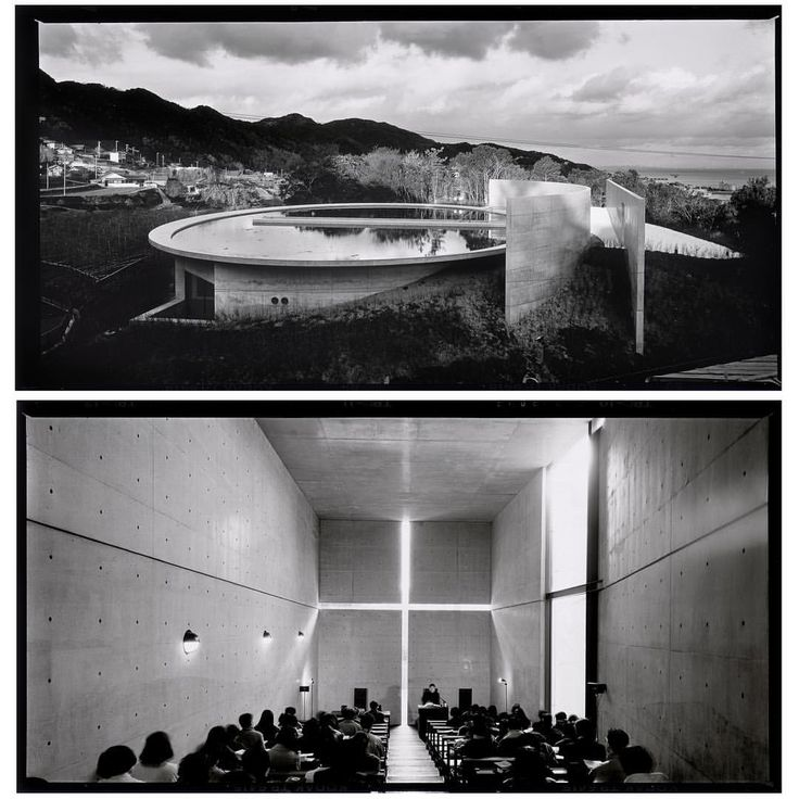 Jean-Michel VOGE - The Church of the Light by Tadao Ando - Let us be spiritual on this Sunday morning! Let's go the Church of the Light, in a small town called Ibaraki, 25 km outside Osaka, in Japan. This church embraces the philosophy of his Architect. The self-taught Japanese Architect Tadao Ando, well-known for his creative use of natural light.