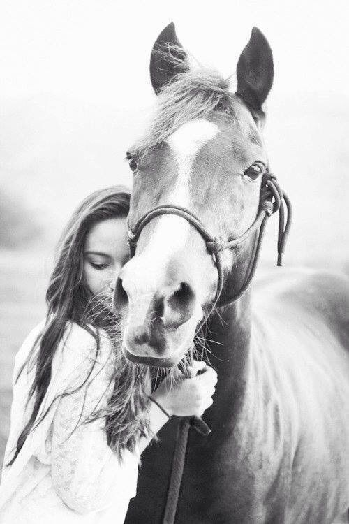 Image via We Heart It https://weheartit.com/entry/160624000/via/15389505 #cute #girl #hair #horse #love #riding #sweet