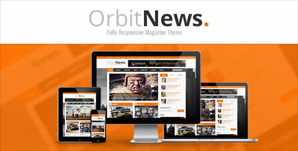 Orbit News - Responsive Magazine HTML Template