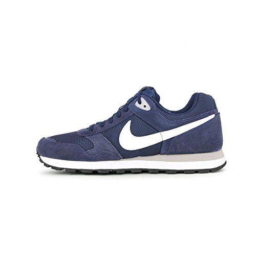 Nike Md Runner Txt 629337-411 Herren Sneaker Blau (Midnight Navy/White-Wolf Grey) 41 - http://on-line-kaufen.de/nike/41-eu-nike-md-runner-txt-629337-herren-niedrig-2