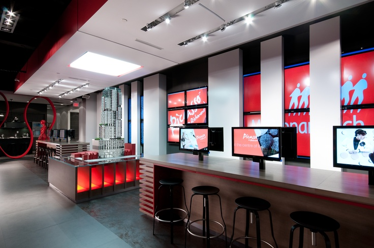 Monarch Group Picasso Sales Centre. Located at 256 Queen St West, Toronto ON.