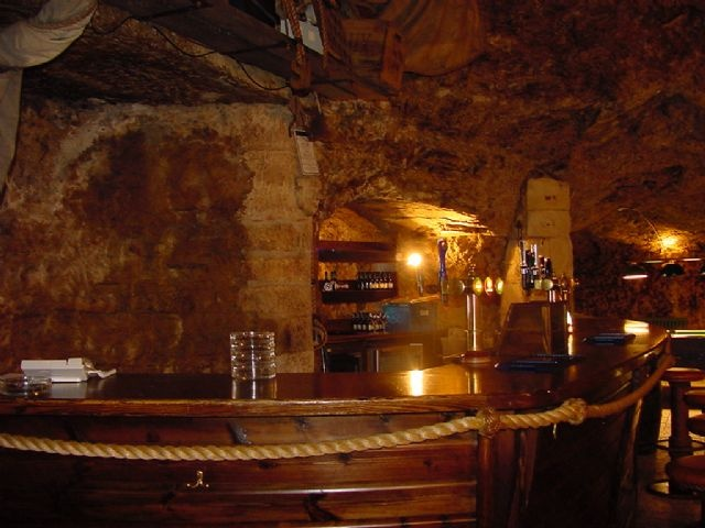 The Marsden Grotto is well known for being the only restaurant and bar in a cave in the whole of Europe. Known to the locals simply as 'The Grotto', it is situated in the cliffs of Marsden's coast in South Shields in Tyne & Wear.