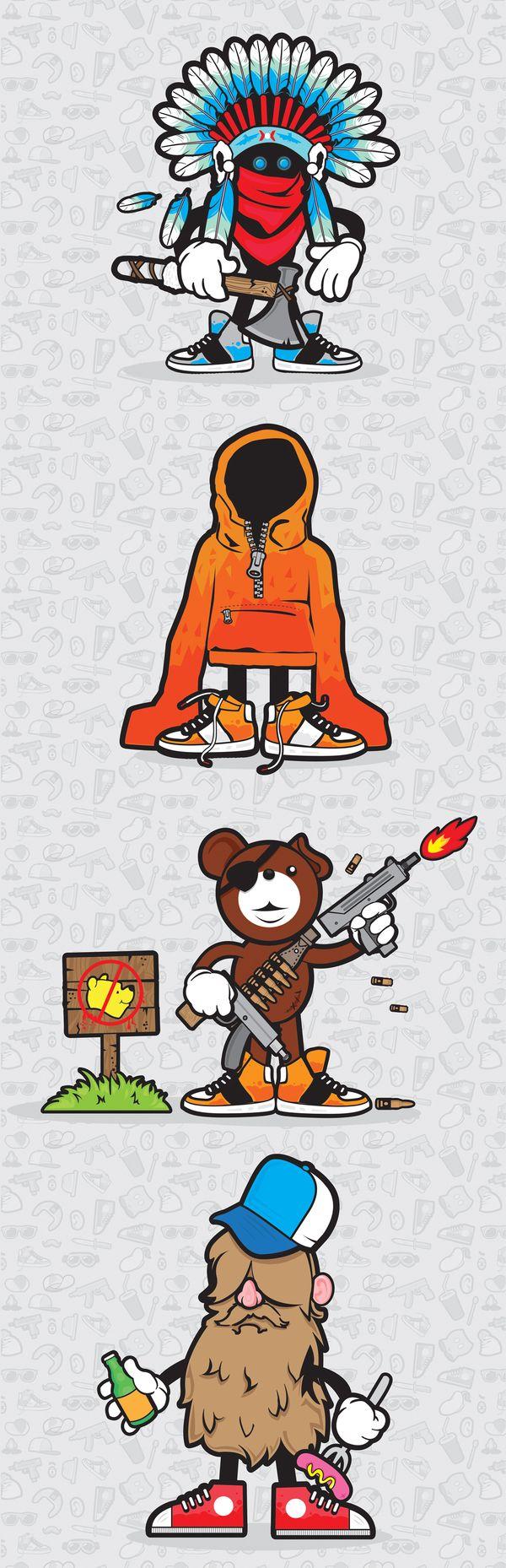 Character design 2 by Justyna Olejniczak, via BehanceCharacterdesign