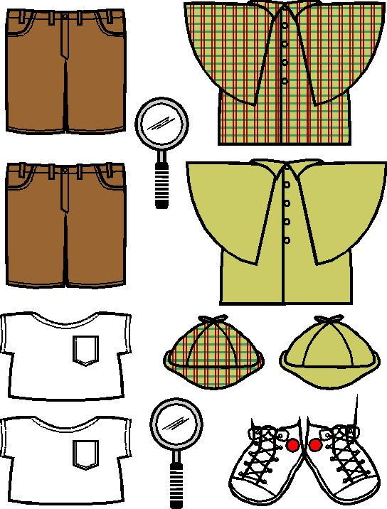 A paper doll for every theme...I think they are cute...are the kids getting tired of them?  I'm pretty desperate for this theme, though.