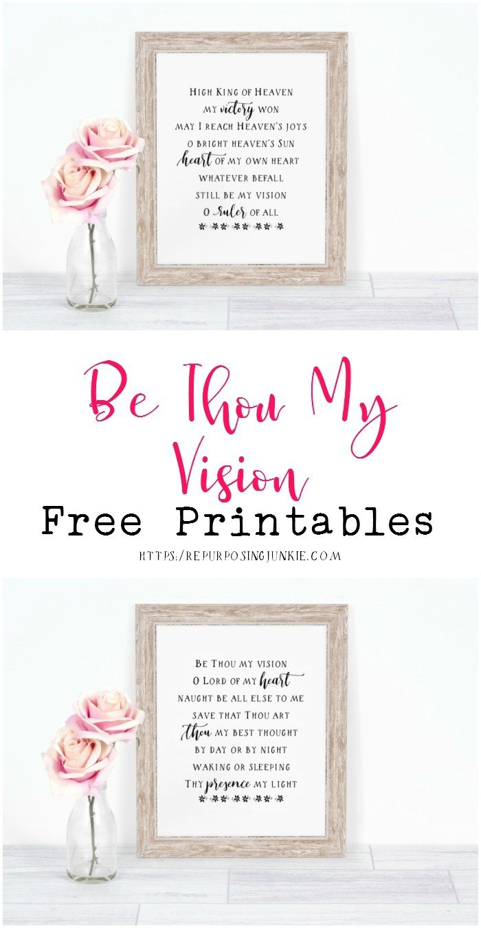 The 25 best be thou my vision ideas on pinterest hymn art be thou my vision hymn free printables hexwebz Gallery