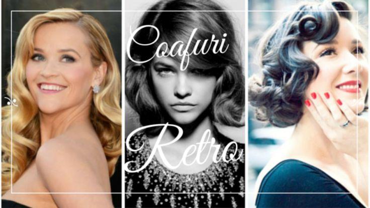In trend: coafuri retro pentru un look glam