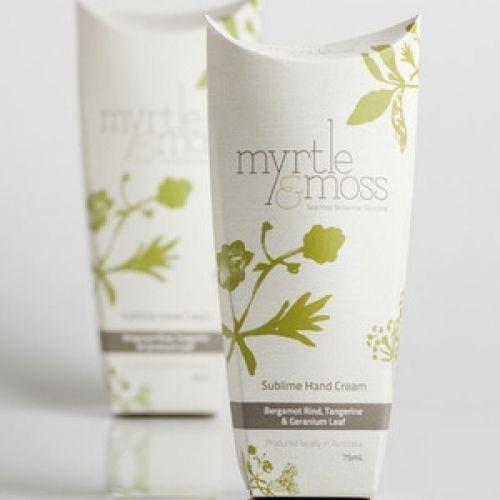 Myrtle & Moss Australian Made Hand Cream - White Apple Gifts