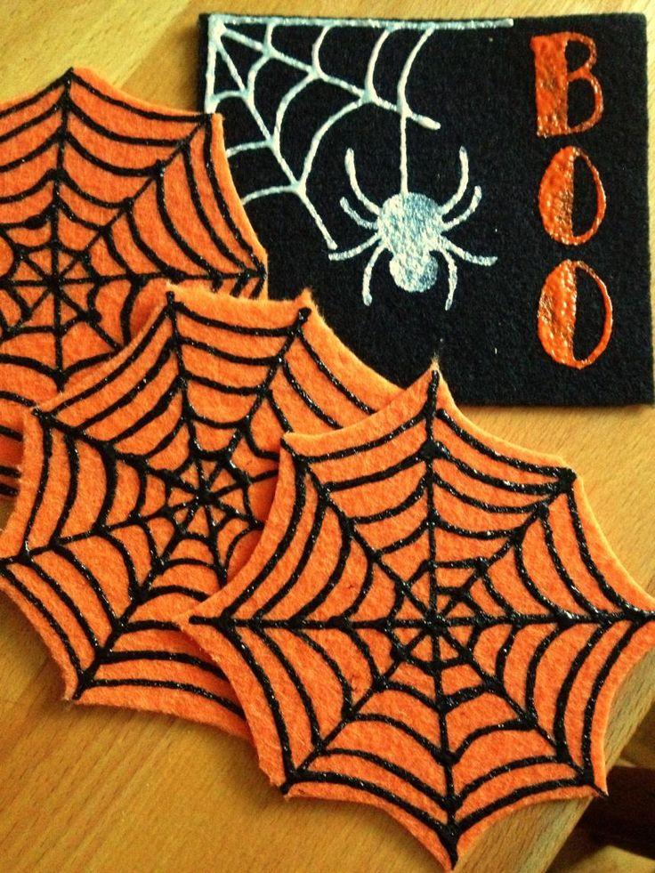 129 best DIY Felt Coasters images on Pinterest | Felt ...