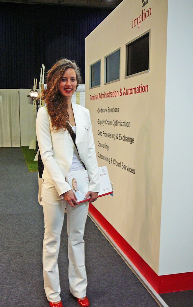 Implico hostess at StocExpo 2015