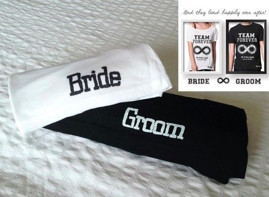 "Team FOREVER bride & Groom tshirts  ...and they lived happily ever after!  This personalised ""TEAM FOREVER"" print makes the perfect wedding or anniversary gift!  It can be printed on anything ! (T-shirts , serving trays, coffee/tea cups etc)   Just let us know the names and year and we will create your own unique personalised gift.  www.storymood.com"