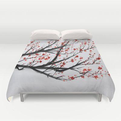 Sakura Duvet Cover by Rchaem - $99.00