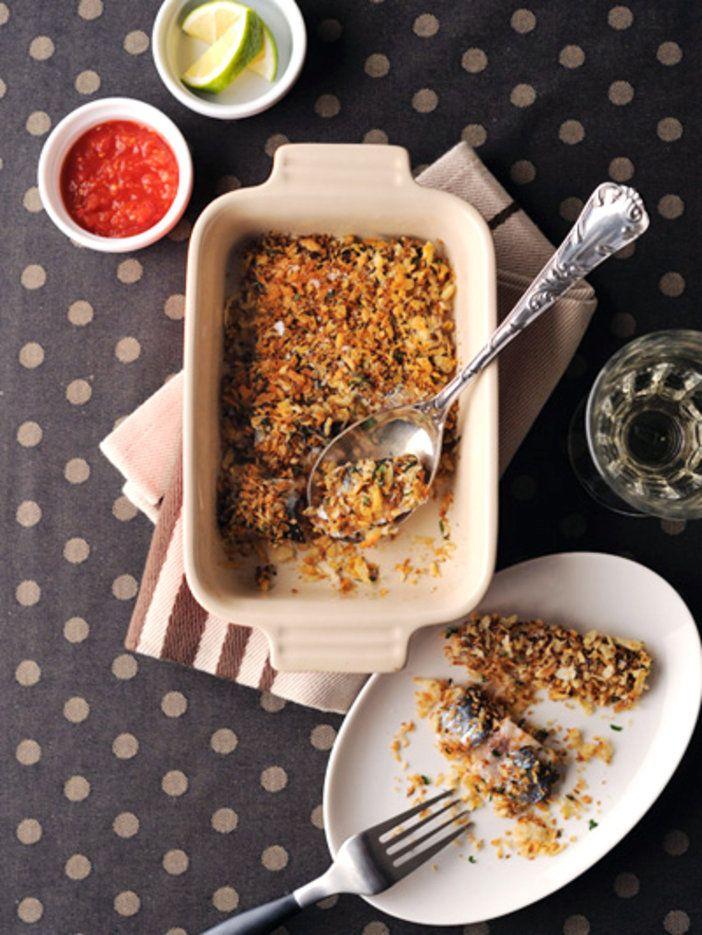 脂の乗ったいわしをサクサクのパン粉と一緒にいただく、シンプルおいしいワインおつまみ|『ELLE a table』はおしゃれで簡単なレシピが満載!