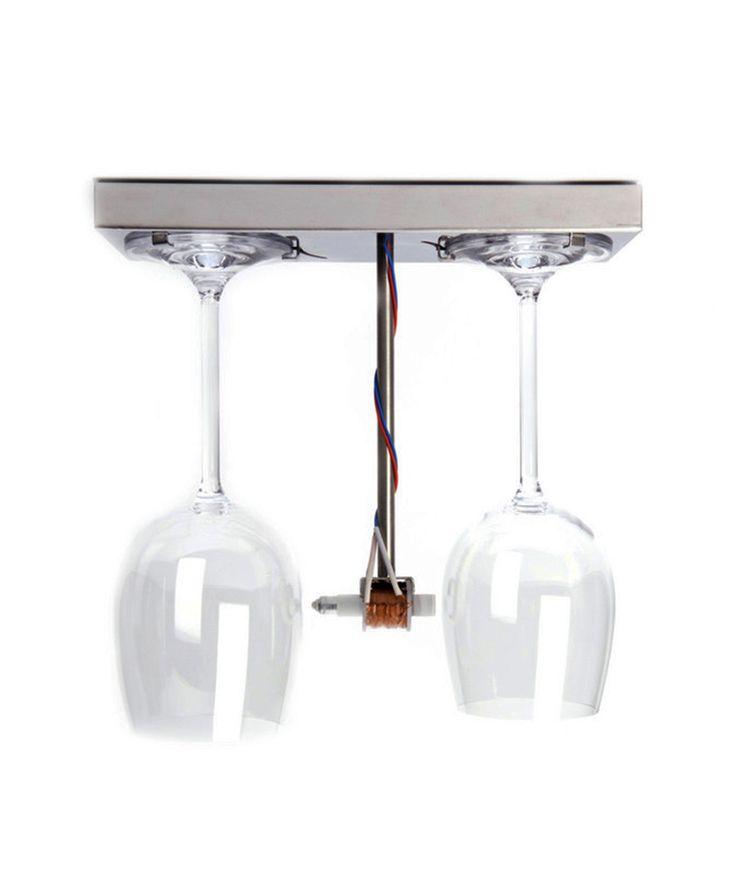 Tipsy Wineglass Doorbell #gadget #design