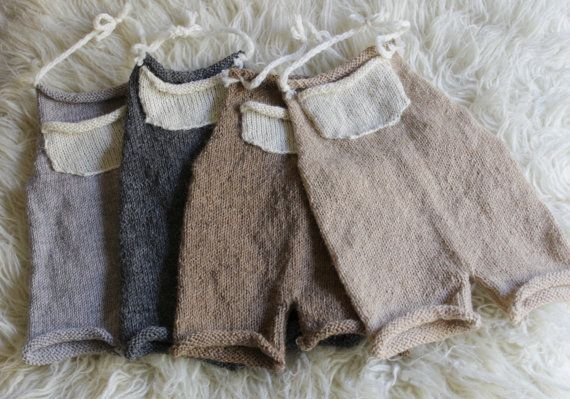 6-12 MONTHS romper Knit pants set Toddler by MoonlightLittleKnits