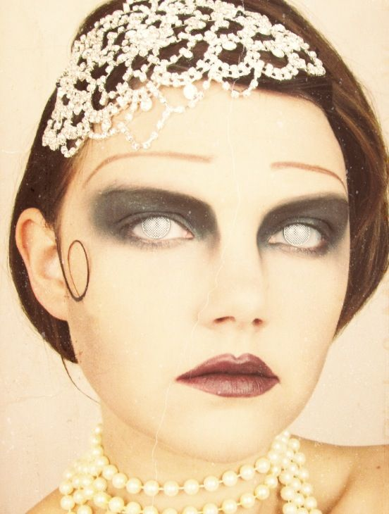 Great Gatsby Zombie Halloween Makeup Watch the tutorial on ...