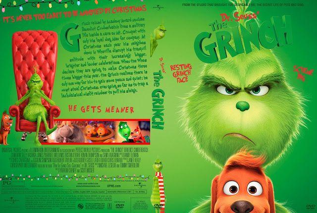 The Grinch Dvd Cover The Grinch Dvd Dvd Covers Grinch