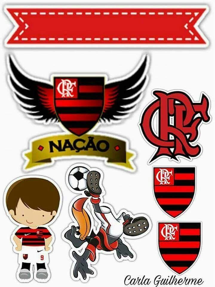 Resultado De Imagem Para Topo De Bolo Flamengo Para Imprimir Gratis