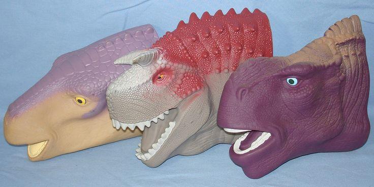 "Disney ""Dinosaur"" hand puppets, McDonalds promo"