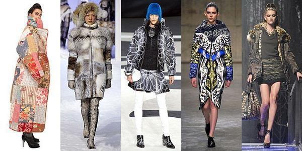 Пальто стилизованные под военные