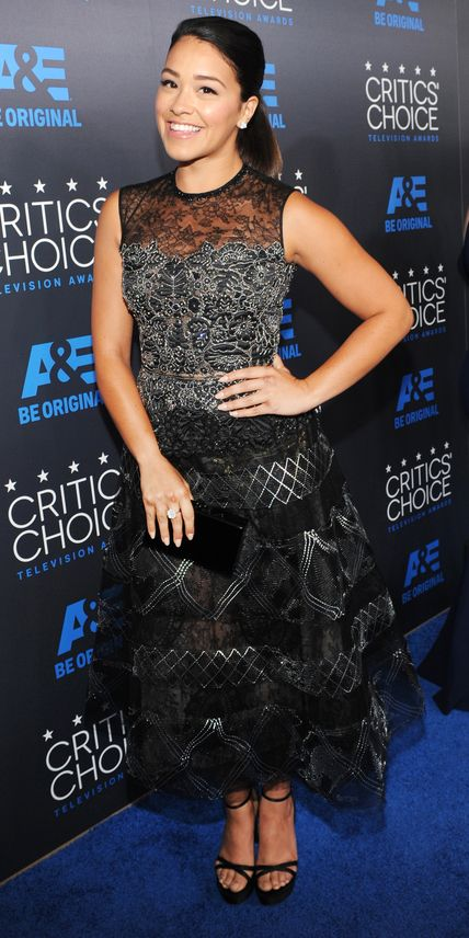 See All the Best Looks from the 2015 Critics' Choice TV Awards - Gina Rodriguez from #InStyle