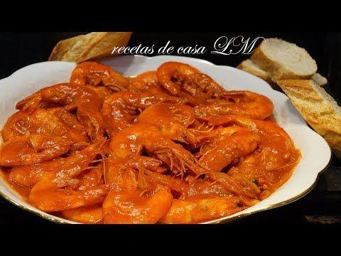 Langostinos en salsa f ciles y r pidos receta para navidad for Platillos faciles y rapidos
