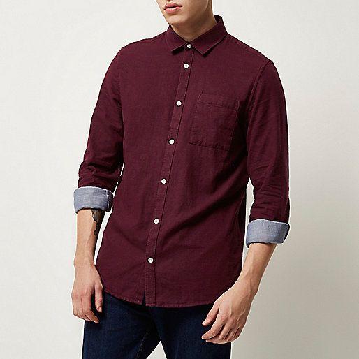 17 best ideas about chemise rouge homme on pinterest. Black Bedroom Furniture Sets. Home Design Ideas
