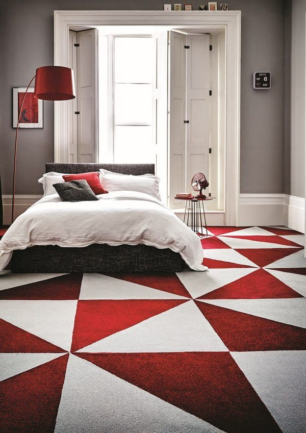 carpet tiles advantages disadvantages residential flooring ideas #bedroom