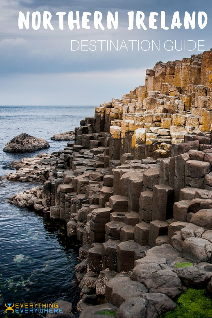 A complete guide to travel in Northern Ireland. Best places to visit including Belfast and Giant's Causeway + practical tips for your trip. Travel in the United Kingdom. | Everything Everywhere Travel Blog #Travel #NorthernIreland