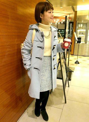 ダッフルコートのコーデ集・着用ブランド(レディース) | 花子