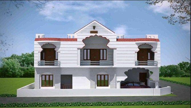 Indian Village House Design Bungalow House Design Village House
