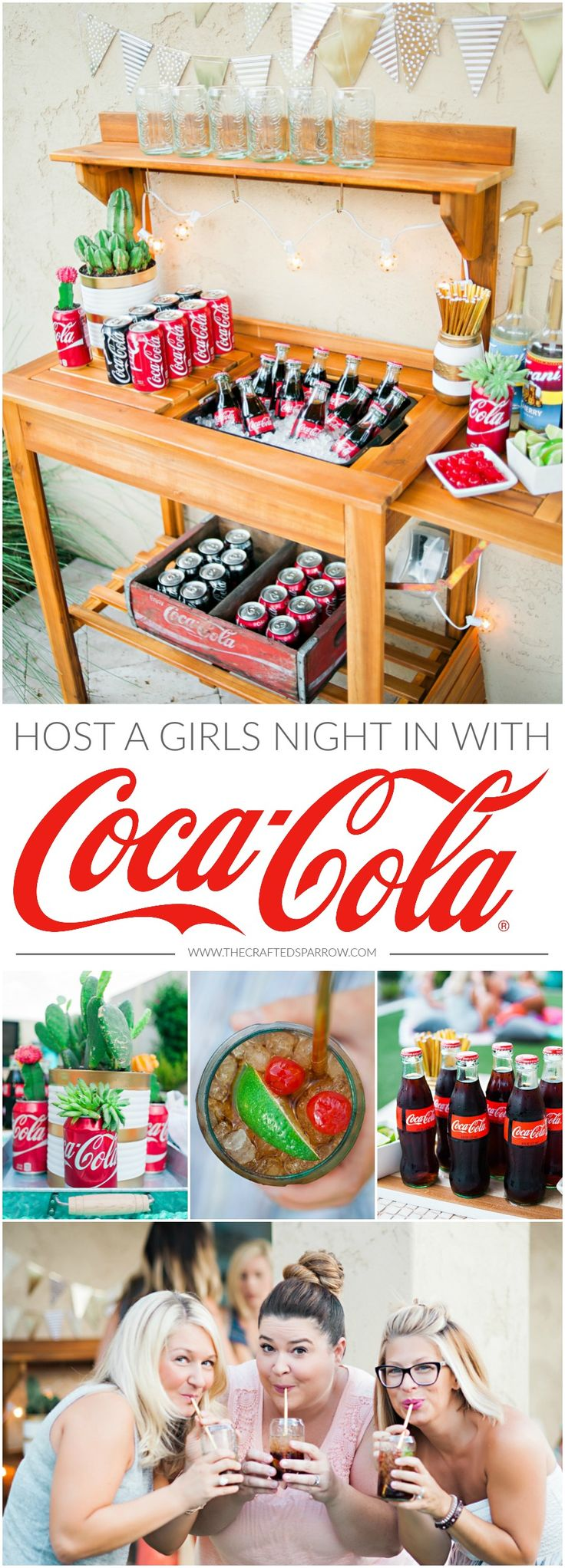 Girls Night In with Coca-Cola     #ThatsGold #ad @cocacola