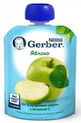 ГЕРБЕР пюре яблоко 90г  — 72р. --------------------------------- Познакомившись с однокомпонентными продуктами, ваш малыш готов к расширению меню.     Gerber предлагает фруктовые пюре из нескольких компонентов. Они вносят необходимое разнообразие в рацион малыша и прекрасно подходят для плавного расширения меню. Фруктовое пюре Gerber Яблоко - это первое знакомство малыша с разнообразием вкусов, приготовленное из натуральных фруктов, богатых клетчаткой, органическими кислотами, витаминами и…