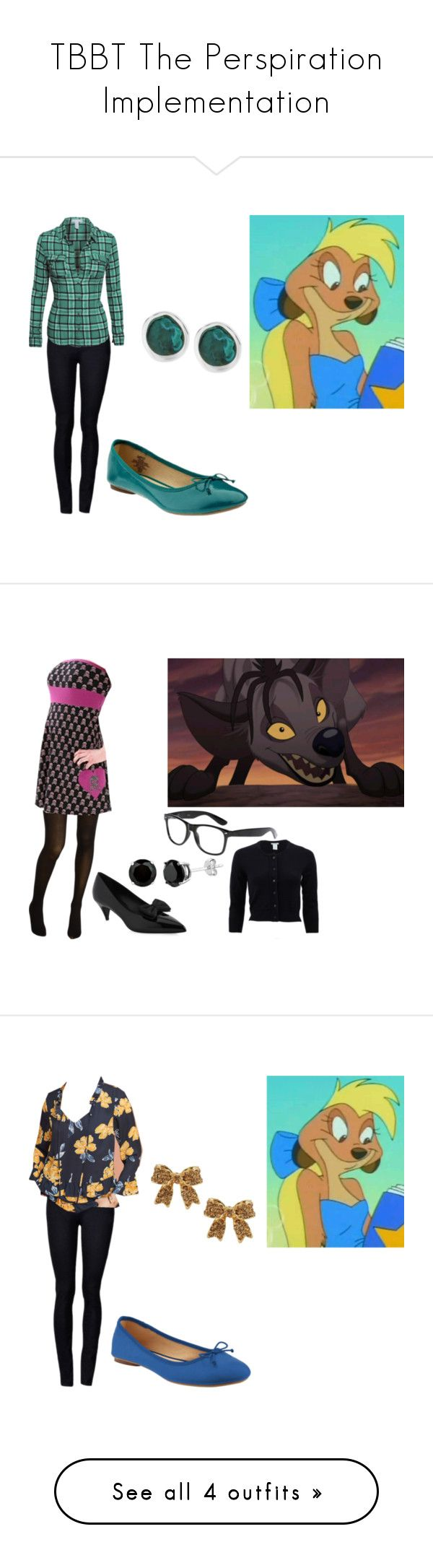 """""""TBBT The Perspiration Implementation"""" by brainyxbat ❤ liked on Polyvore featuring Old Navy, Robert Lee Morris, BANZAI, Cole Haan, Cyrus, Oscar de la Renta, Yves Saint Laurent, Paper Crown, Emily & Ashley and Luichiny"""