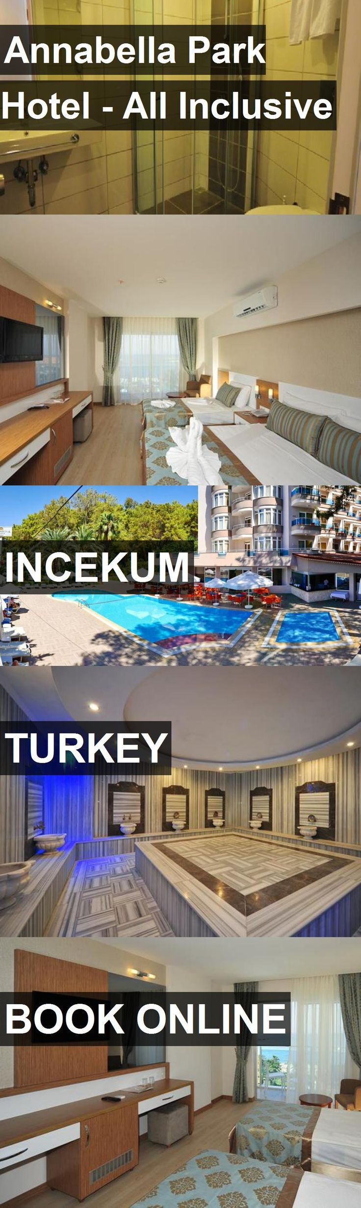 Annabella Park Hotel - All Inclusive in Incekum, Turkey. For more information, photos, reviews and best prices please follow the link. #Turkey #Incekum #travel #vacation #hotel