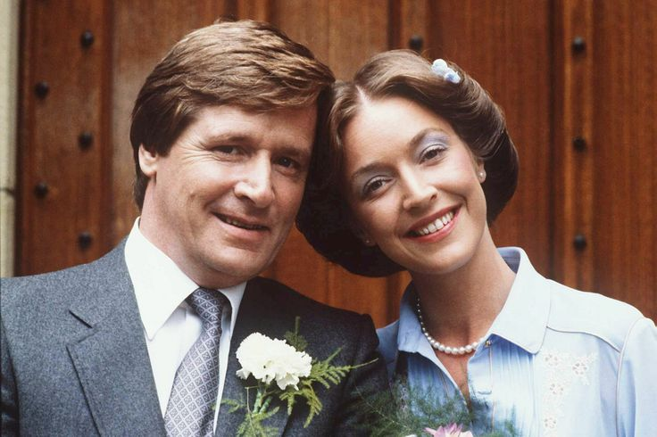 Ken and Deirdre's first wedding