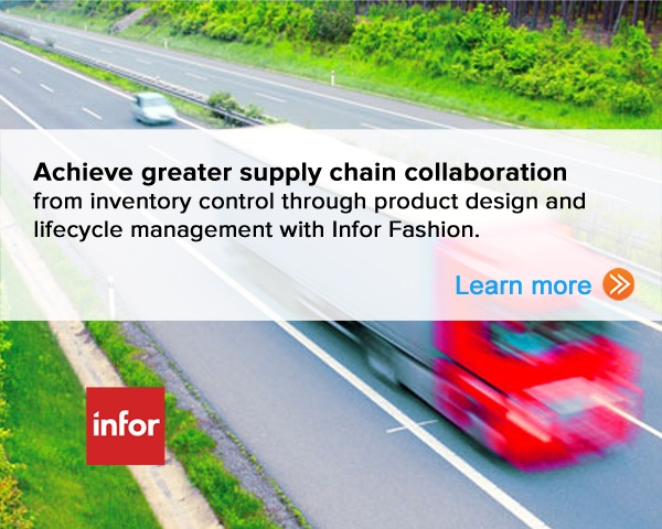 Achieve greater supply chain collaboration from inventory control through product design and lifecycle management with Infor Fashion. Learn more.