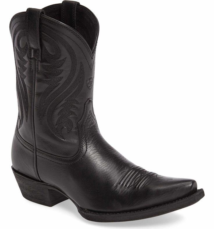 Main Image - Ariat Willow Western Boot (Women). Black Cowboy BootsWestern  BootsWestern StyleRaf ...