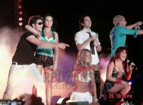 RBD tour del adios