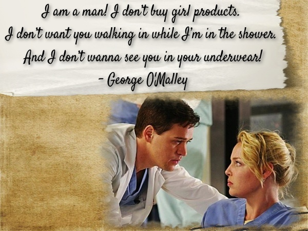 Grey's Anatomy Season 1 Quotes